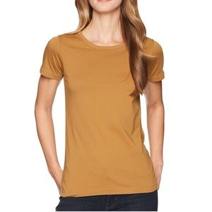 Filson Whidbey Scoop neck T-shirt Caramel Large